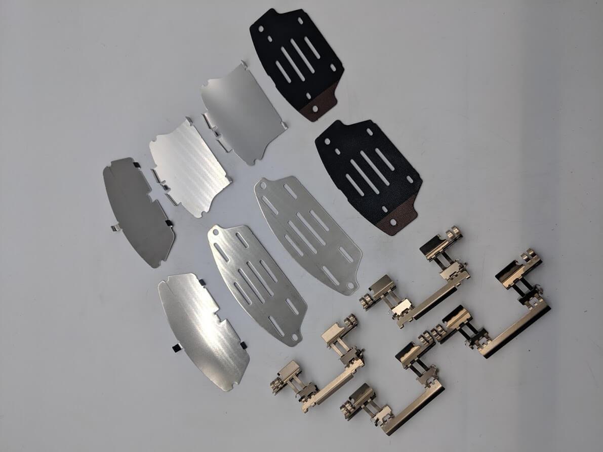 Genuine Front Pad Attachments  - Mazda 6 2007 - 2012 image 1